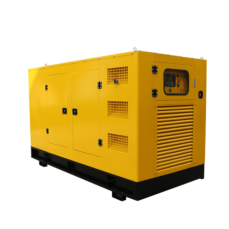 50kw Small Powerful Natural Gas Genset Silent Type Generator Price With Mobile Trailer