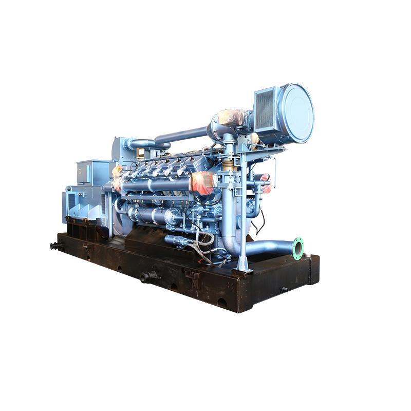 700/875 Kva 3 Phase Electrical Brushless Gas Electric Generator