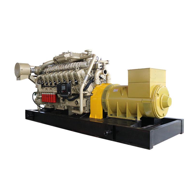 Water Cooling 1000/1250 Kva Electric Start Methane Gas Methane Gas