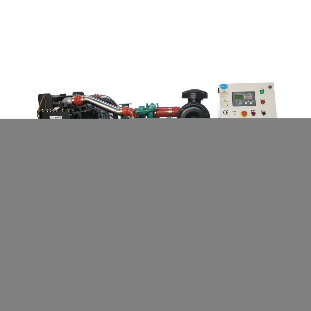 Clean Energy 24v Electric Start Open Frame Biogas Power Generator