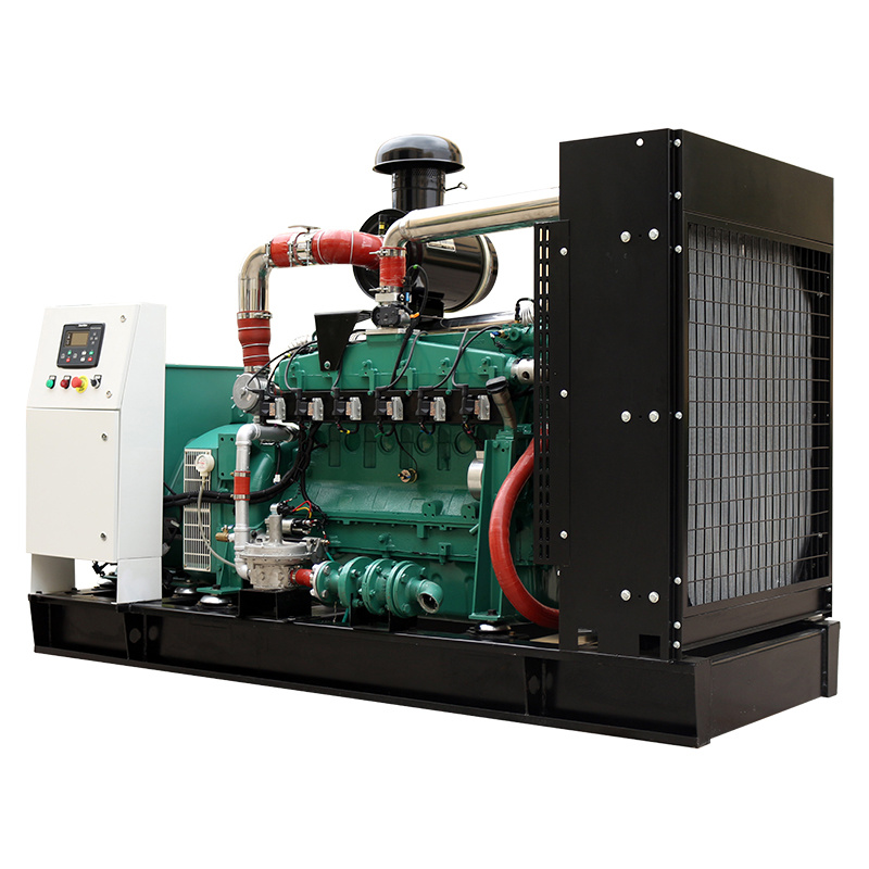 Natural Gas Steam 24V Electric Start 361A Open Frame Power Generator Price
