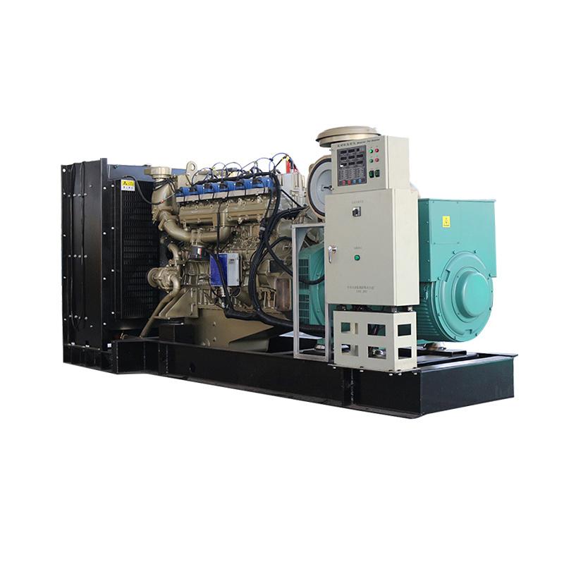 Environmental Protection 3 Phase Dynamotor Electric Start Portable Natural Gas Generator
