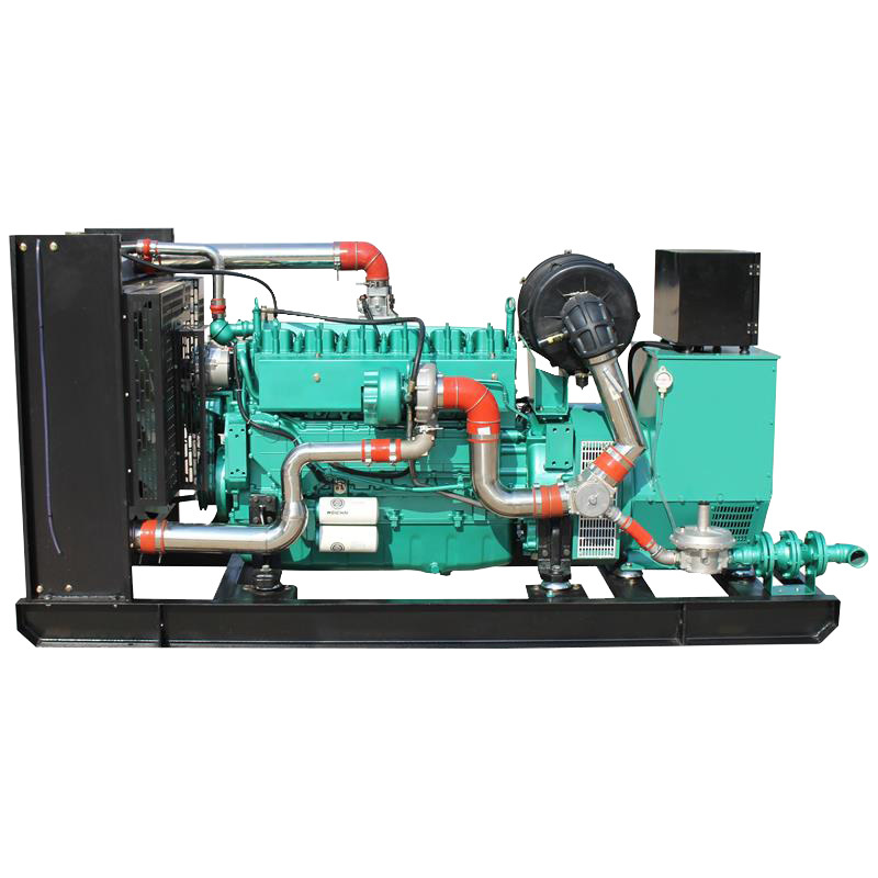 Natural Gas 400v/230v Water Cooling Low Consumption Natural Gas Generator
