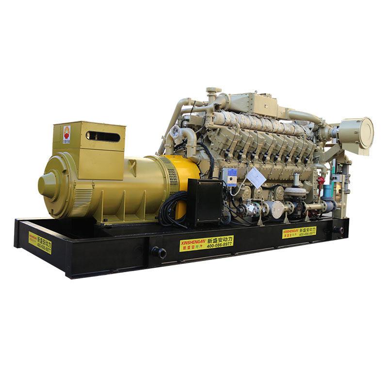 XSA-1000GFQ Water Cooling 0.3m^3/kw.h Gas Power Generator
