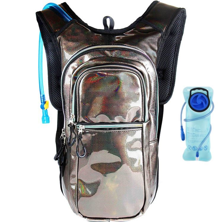 Osgoodway OEM Holographic Hydration Water Backpack Fancy Hydration Back Pack