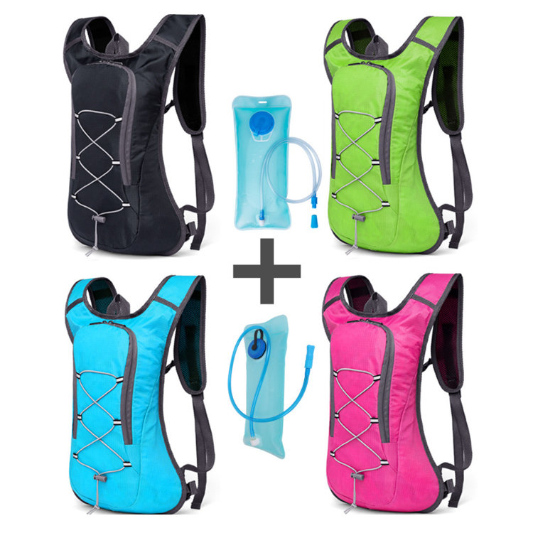 Osgoodway2Waterproof Mountain Sport Cycling Running Hydration Backpack with 2L Water Bladder