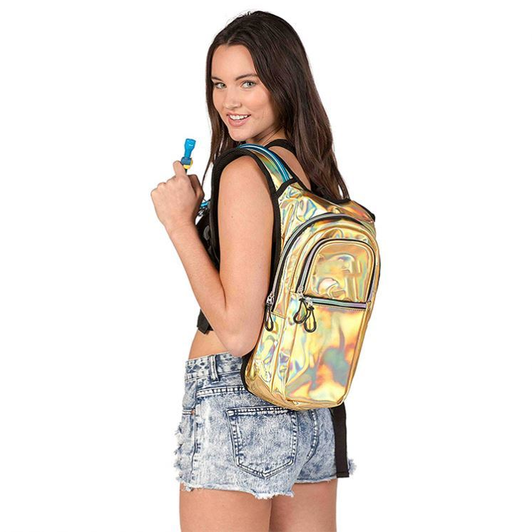 product-Osgoodway OEM Holographic Glitter Laser Rave Hydration Pack Backpack with 2l Bladder-Osgoodw-1