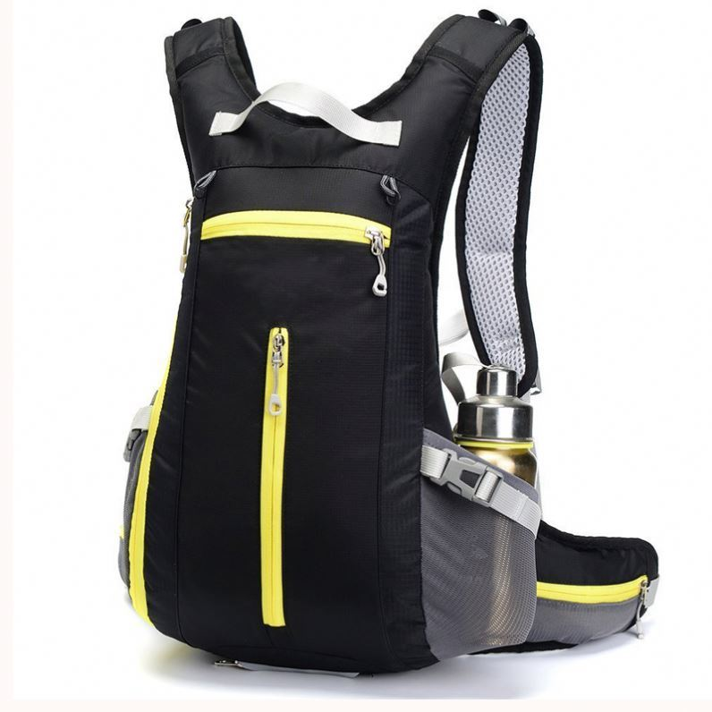 Osgoodway Bicycle Backpack Men Cycling Hydration Backpacks with Helmet Holds
