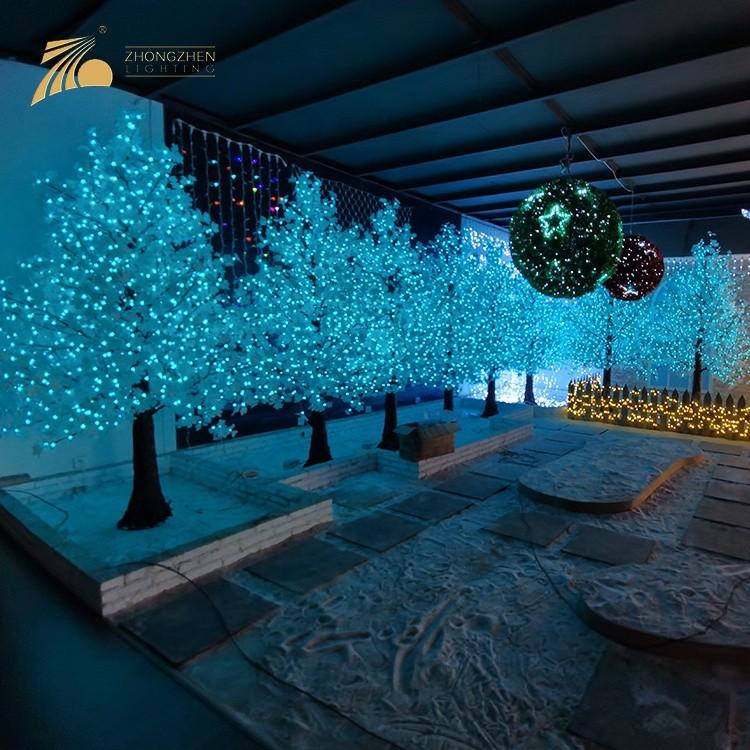 Professional Manufacturer Custom RGB Artificial Decoration Tree Lighting