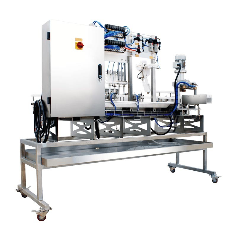 Automatic and Mobile Linear Beverage and Beer Can Filling Machine Equipment System for Sale