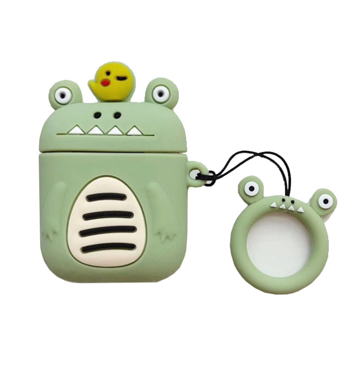 Cute Carrying Cartoon 3D Earphone Case For Protecting Wireless Silicone Portable Bluetooth Earphone