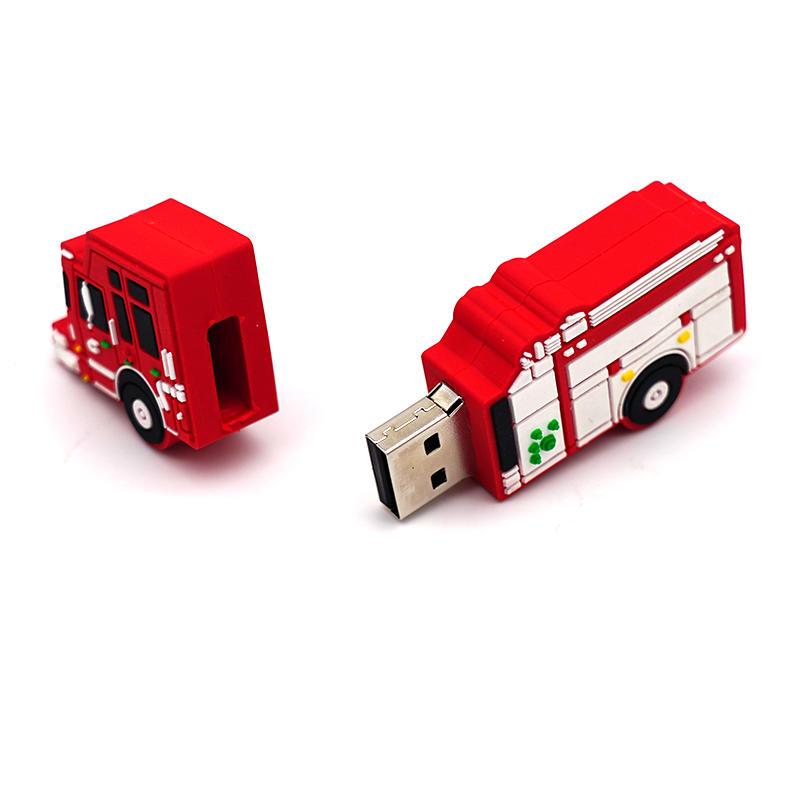 usb flash drive cartoon car shape 16gb 32gb 64gb motor car memory stick u disk gift