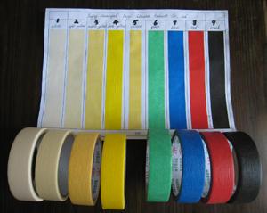 Fujian Yourijiu Masking Paper Adhesive Tape (YY-9851)
