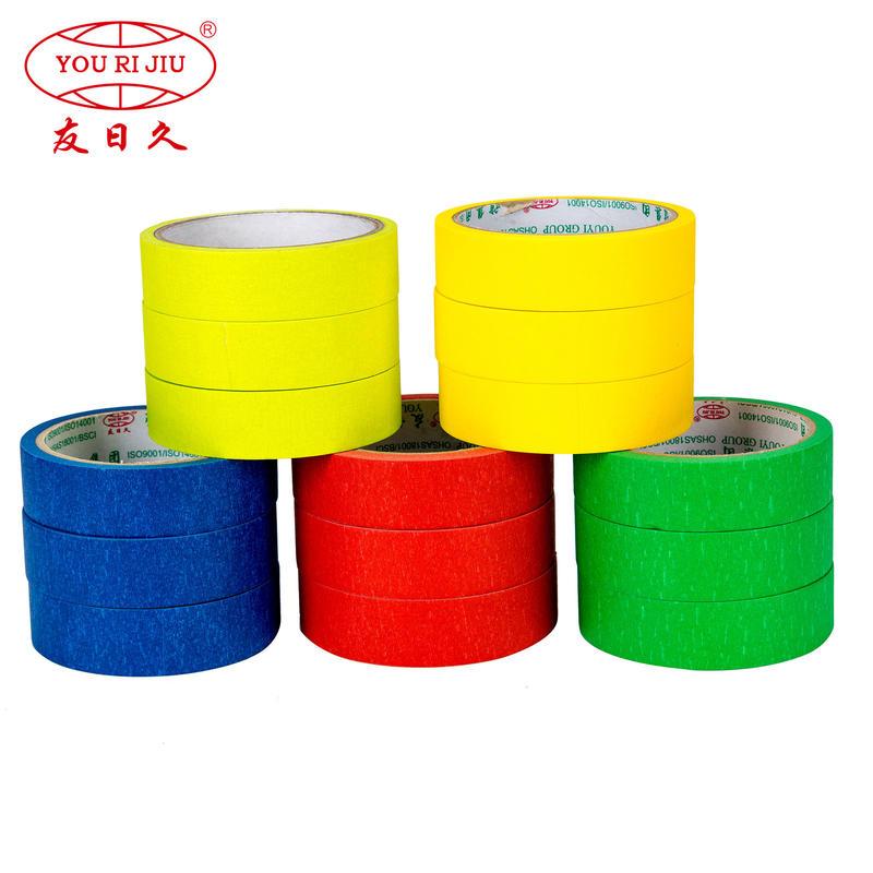 Hot colorful automotive auto painting masking tape