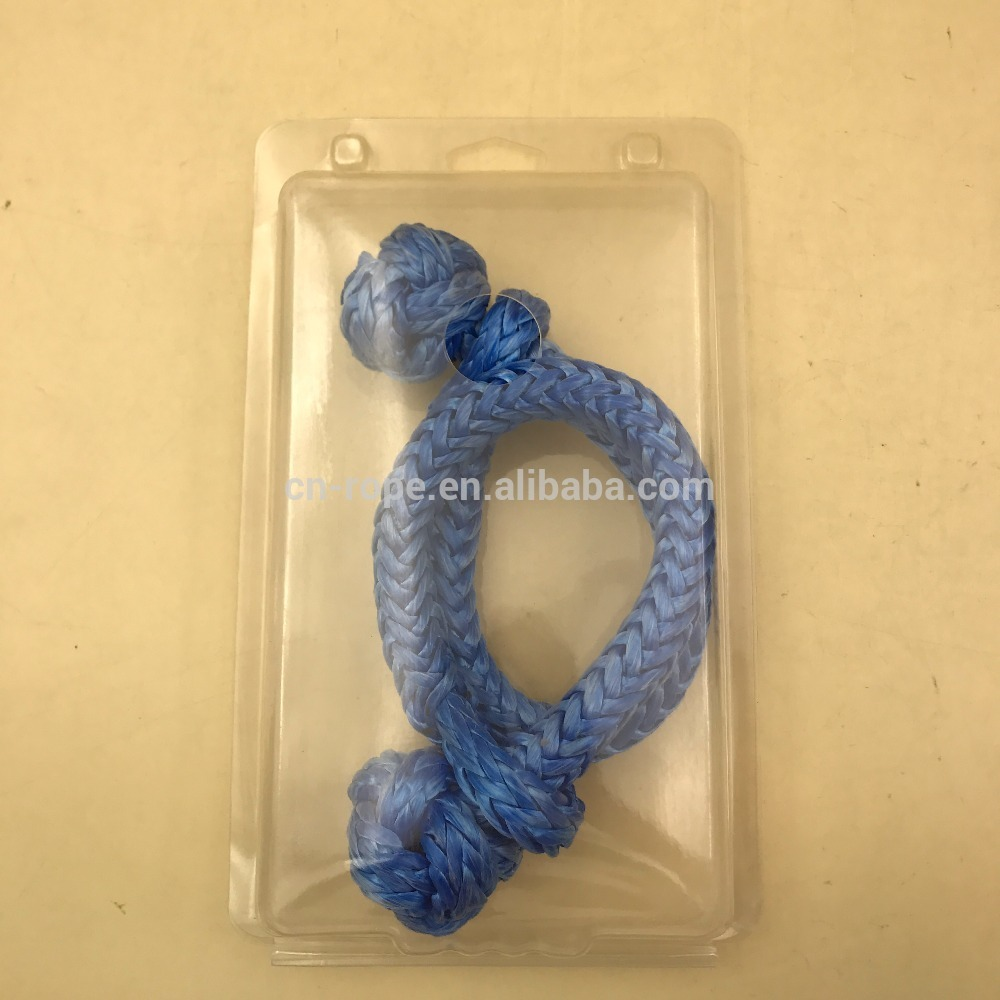 Braided UHMWPE Soft Shackle, 12 strand, factory, tow rope, Mainsail Slider Attachment