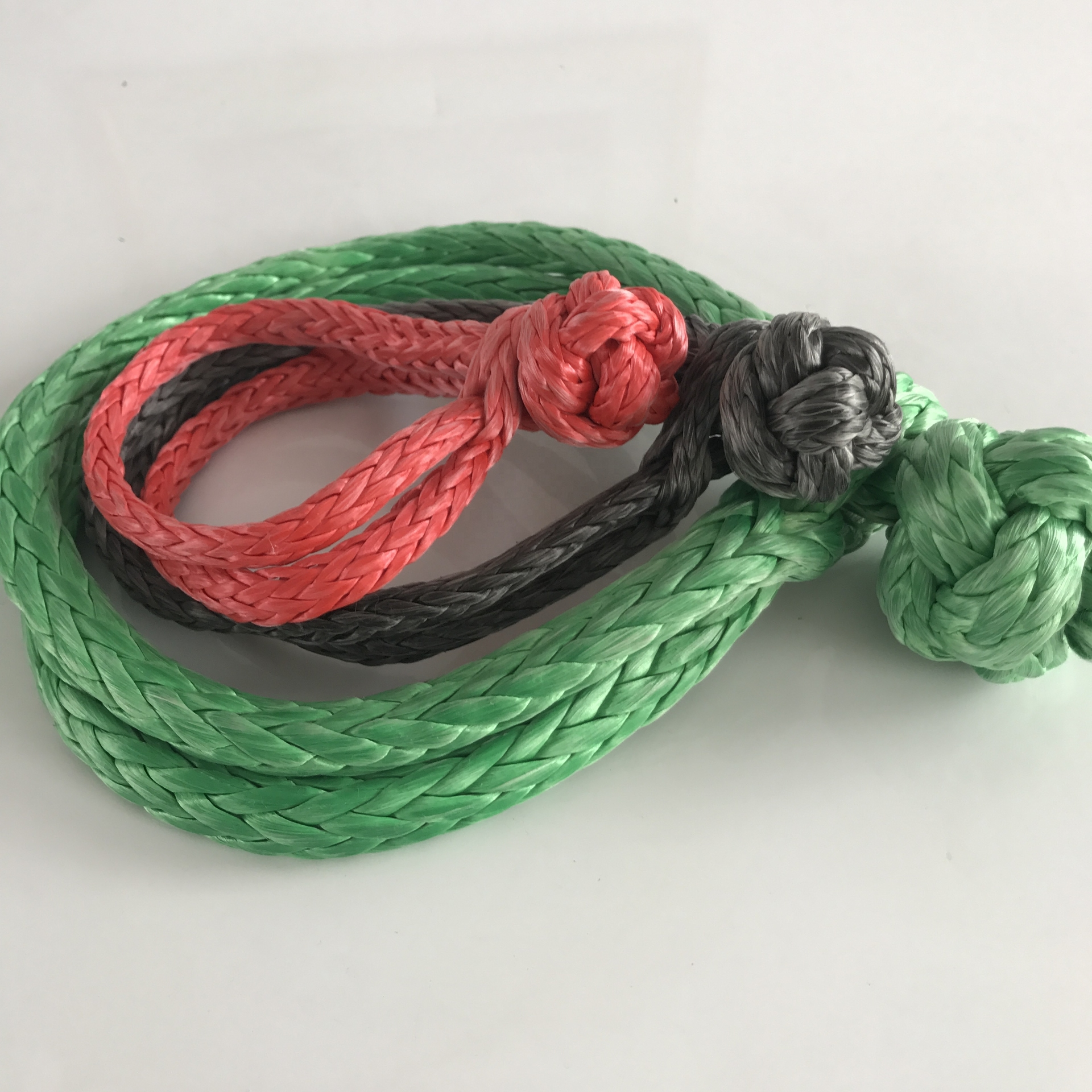 High performancecustomized package and size soft shackle for car accessoriesATV/ UTVwinch rope