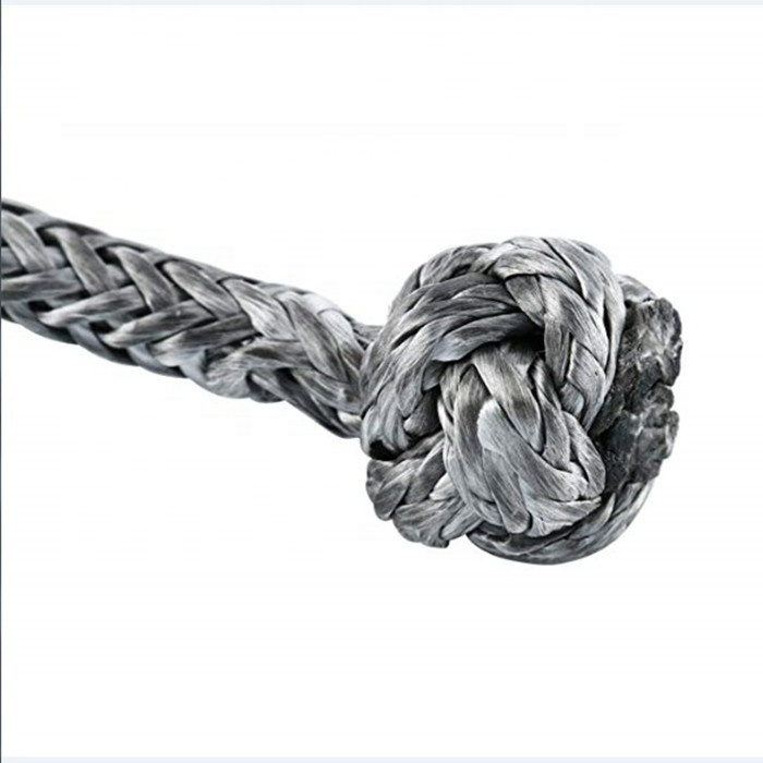 hot selling excellent product nice soft shackle kinetic tow rope and synthetic winch rope