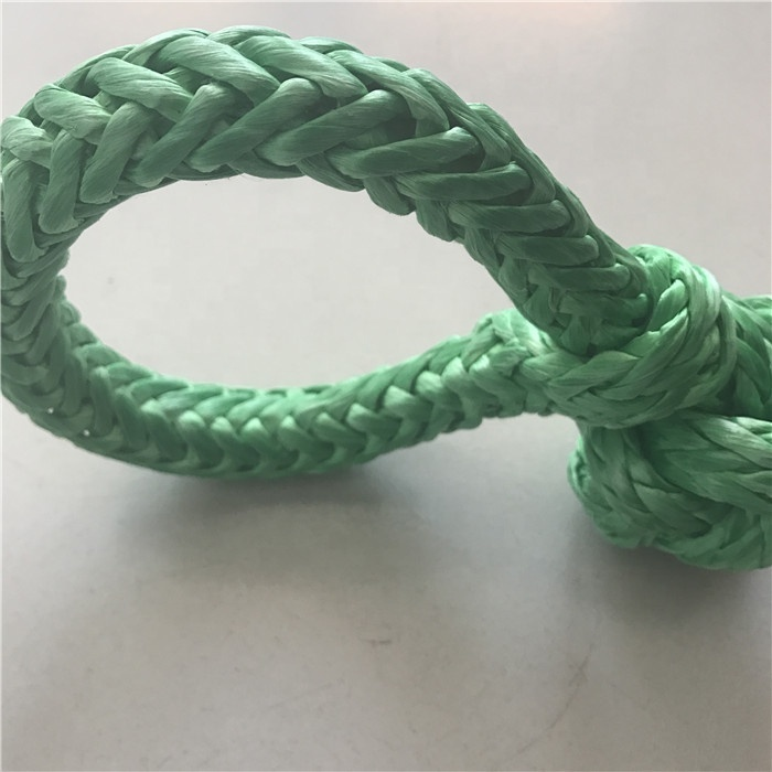 ATV Winch Shackle, soft UHMWPE rope