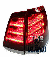 VLAND factory accessories for Car Tail lamp for Land Cruiser 2008-2015 for Land Cruiser LED Taillight with LED DRL+Brake light