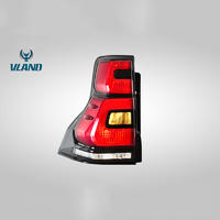 VLAND Manufacturer For Car Tail Lamp For Land Cruiser Prado LED Taillight 2010-2016 Full LED With Sequential Indicator