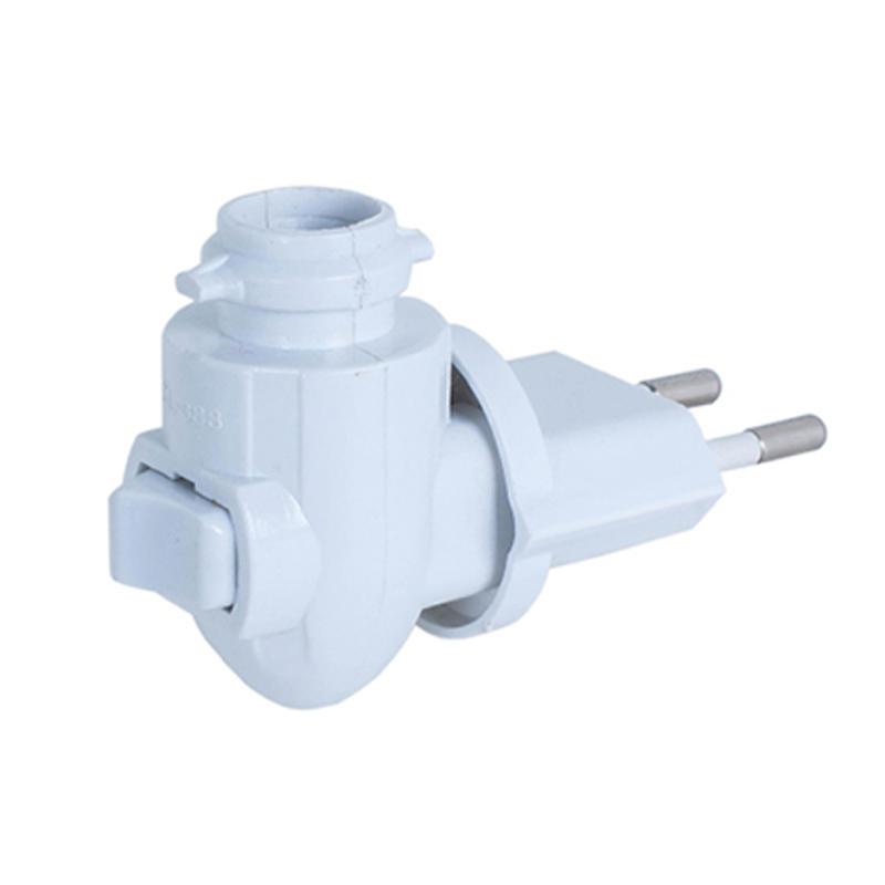 CE ROSH approved night light socket European plug in lamp holder for acrylic ceramic iron night light 220V