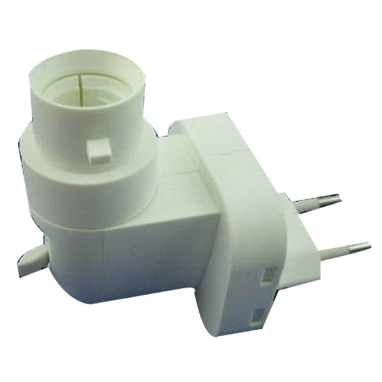 091C with CE ROHS approved night light E14 European electrical plug socket lamp holder 7W 15W 220V 240V