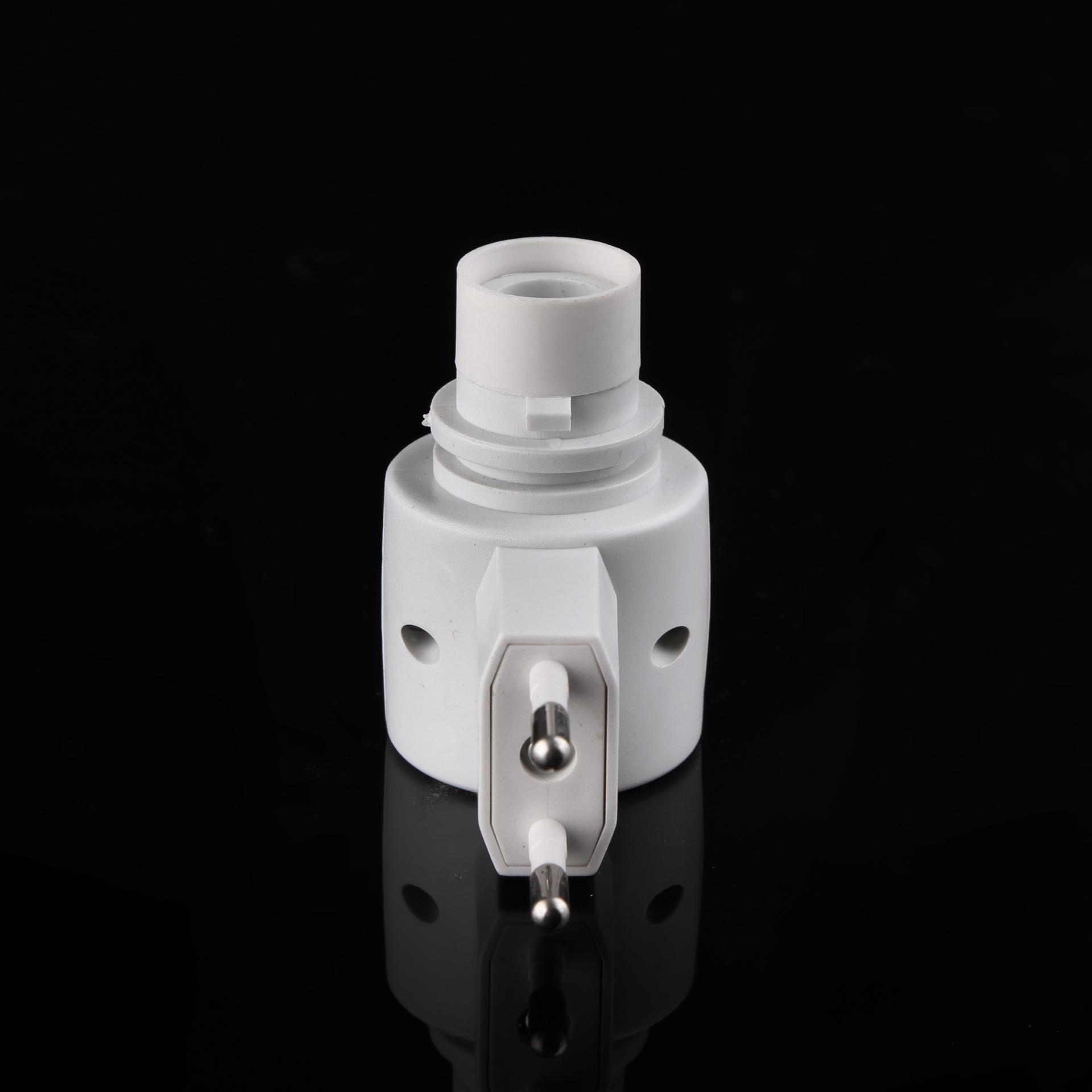 factory price night light part e12 electrical plug socket lamp holder plug base