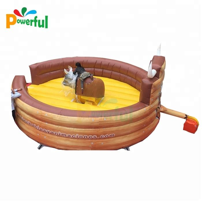 inflatable ride mechanical bull rodeo