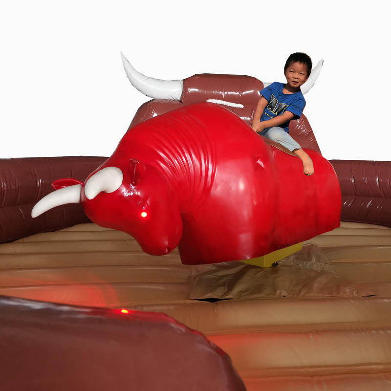 Factory price Inflatable rodeo bull riding machine for sales