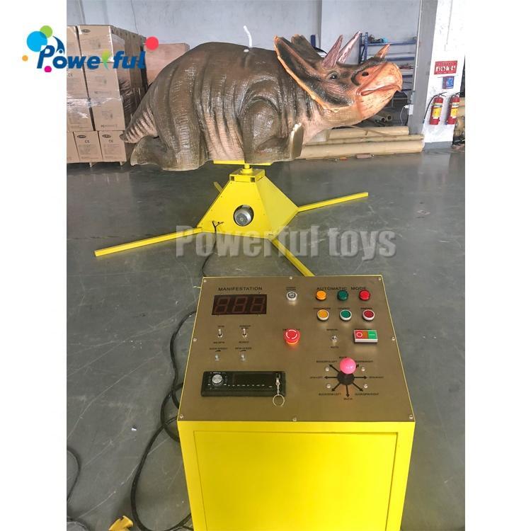 Carnival games New Model Inflatable Mechanical Rhinoceros Carnival Rhinoceros Ride Rentals