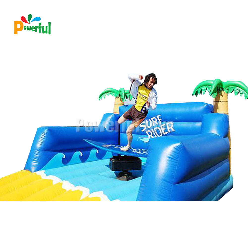 Inflatablesurfing machine sport games simulator surfingboard