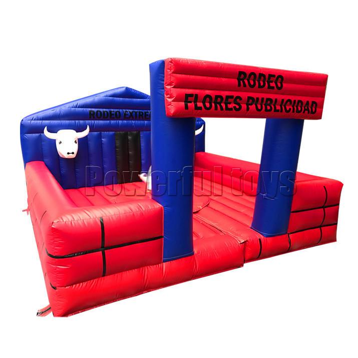 inflatable mechanical bull motor mattress
