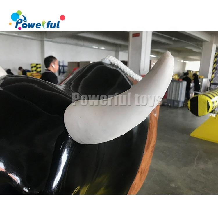 Hot sale inflatable mechanical bull, inflatable rodeo bull for sale