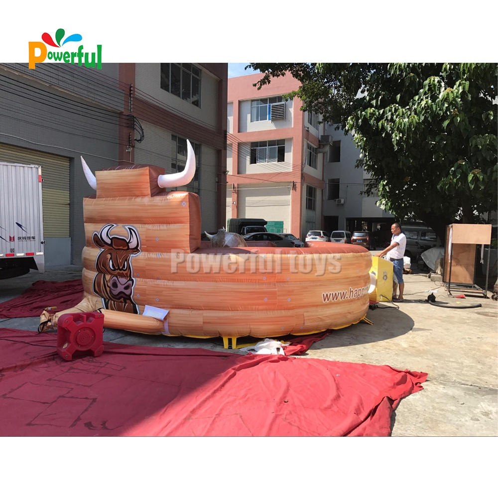 best selling bull riding toys inflatable rodeo bull for adult and kids