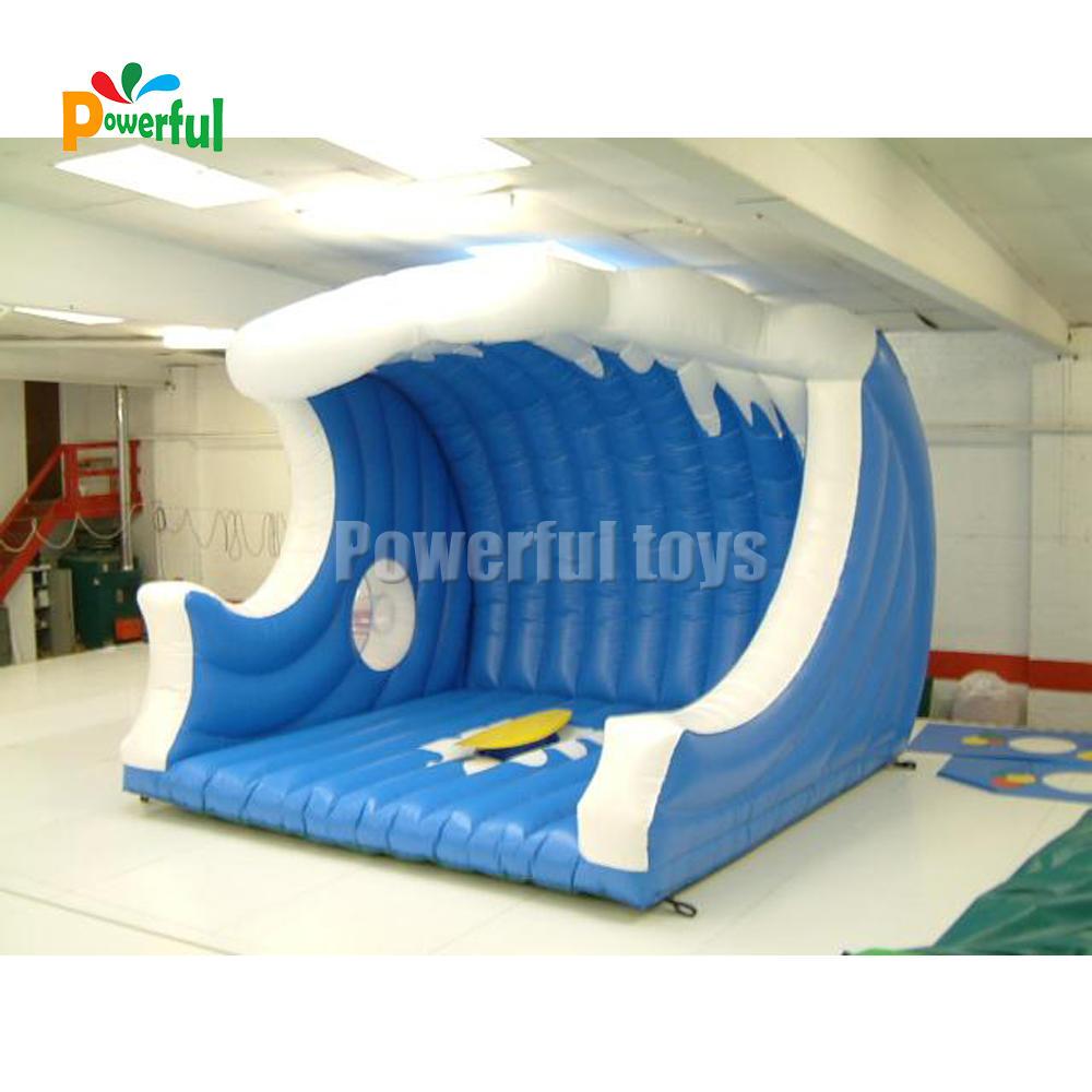 Inflatablesurfing machineInteractive sport games simulator