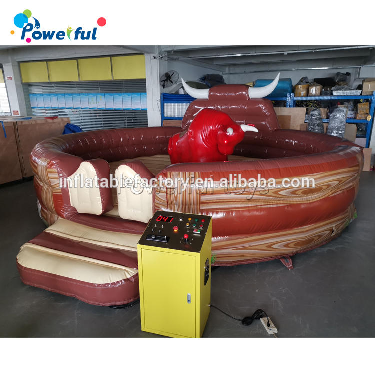 sports inflatable rodeo bull riding machine for sale