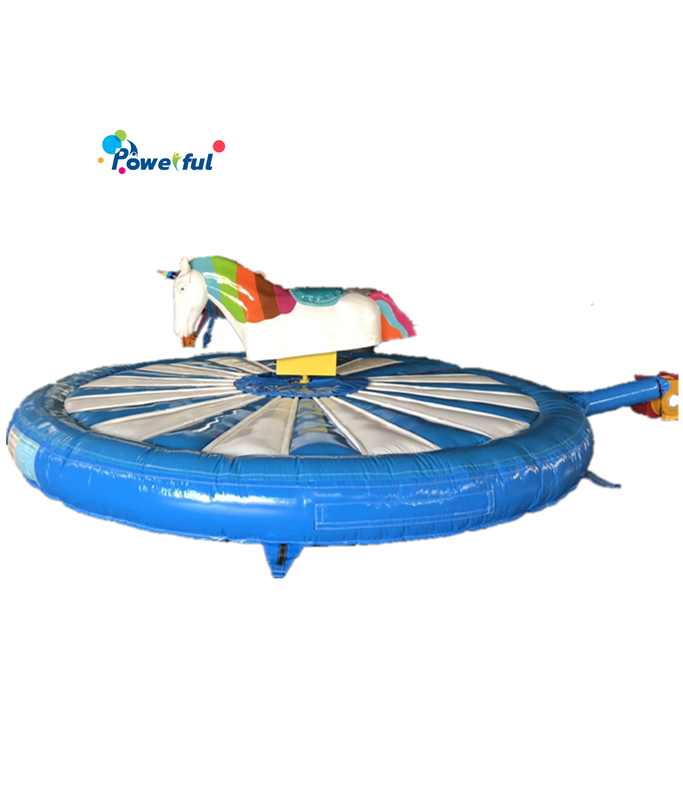 Factory Price Inflatable Ride Mechanical Rodeo Unicorn Riding Horse