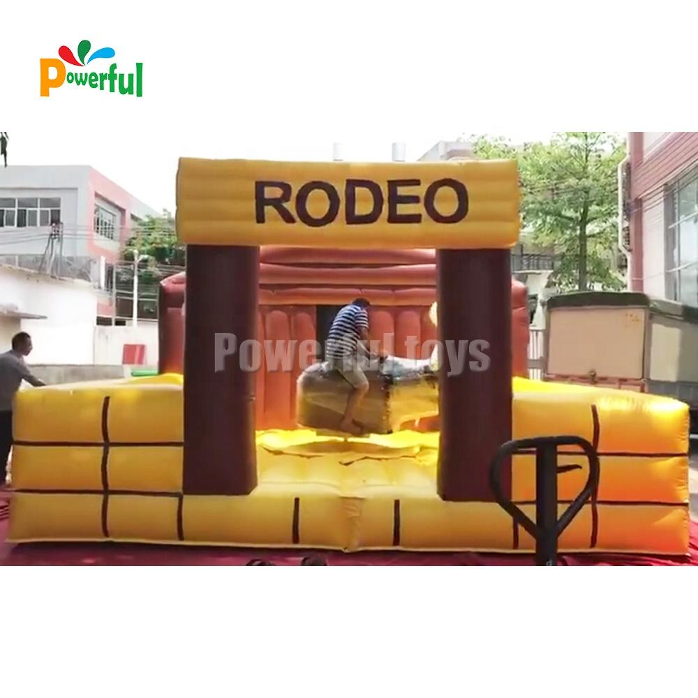 Hot sale inflatable mechanical bull, inflatable rodeo bull ride for sale