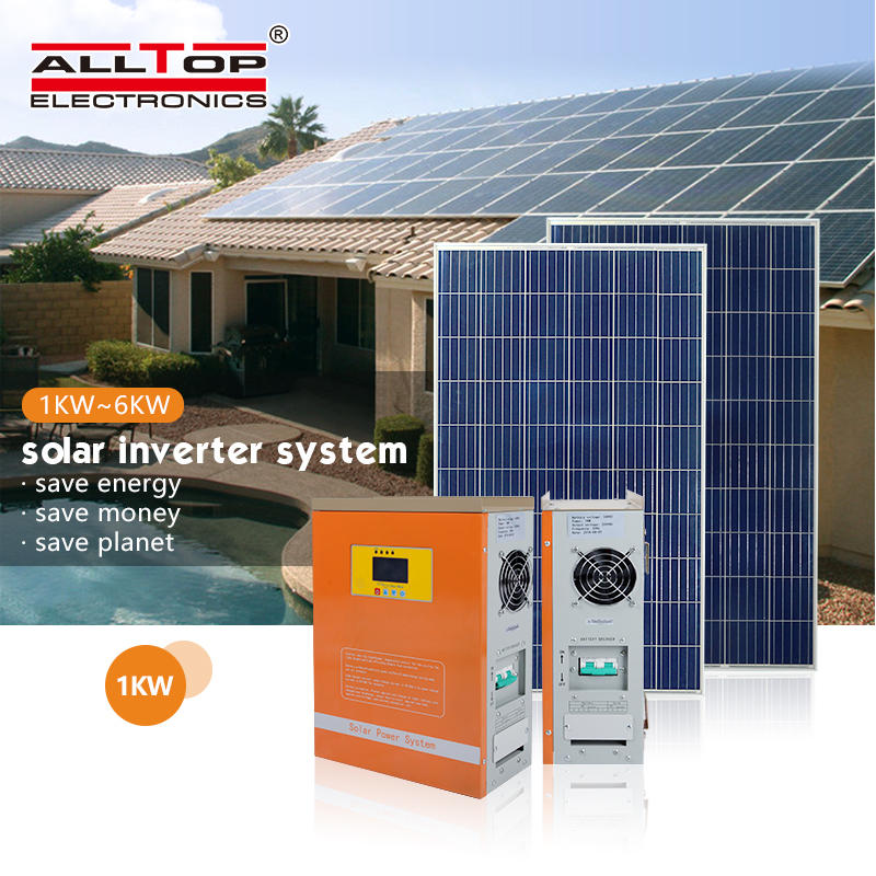 High quality OEM Manufacturer pure sine wave off grid solar power system 3kw power solar inverter