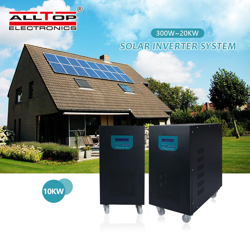 High quality 4000w pv panel off grid 4kw residential solar power systems