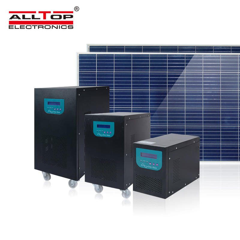 High Quality Off Grid 2KW Solar Power Inverter 3 Phase 2KVA Solar System With Solar Panel