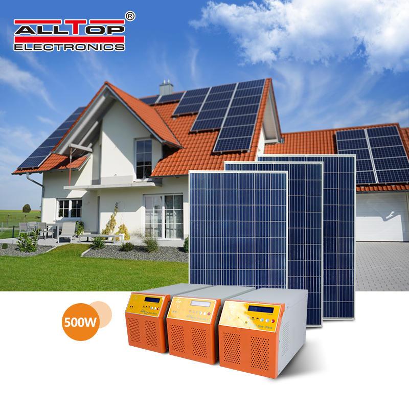 Off grid 8kw solar power system 8kva monocrystalline solar panel inverter system