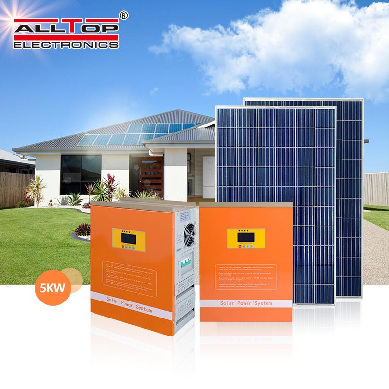 Hybrid solar power system for Home invertor 48v 6kva 6000 watt pure sine wave inverter On Grid Solar Inverter