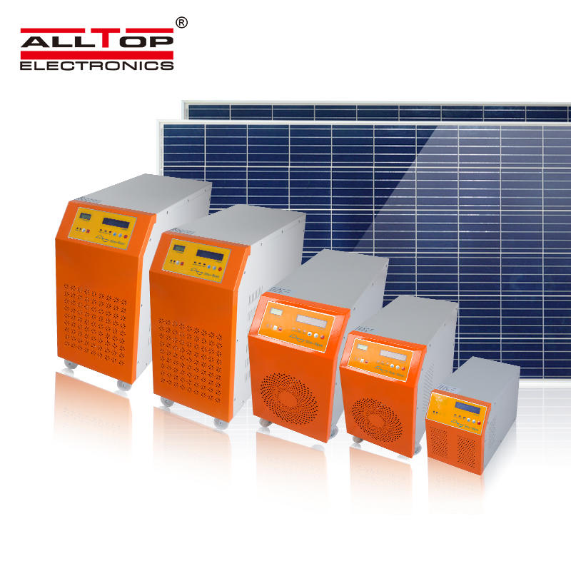 Mppt charge controller hybrid solar 48v acdc low frequency inverter 2KW 3KW 5KW solar inverter