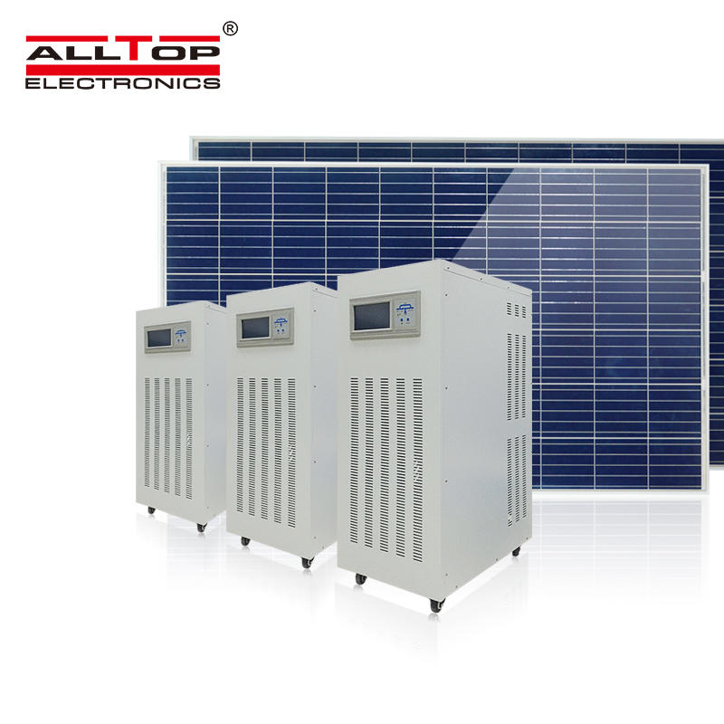 High quality dc ac 3 phase 10kw inverter with mppt solar charger controller off grid solar inverter system