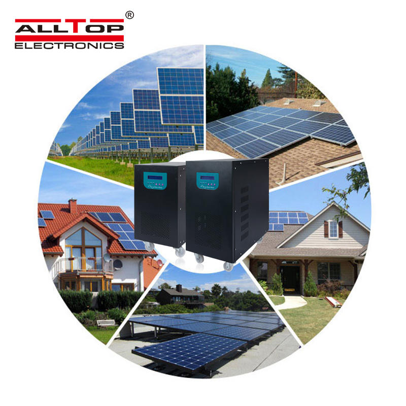 220 volt power inverter off grid 300W 500W 1KW home solar panel system