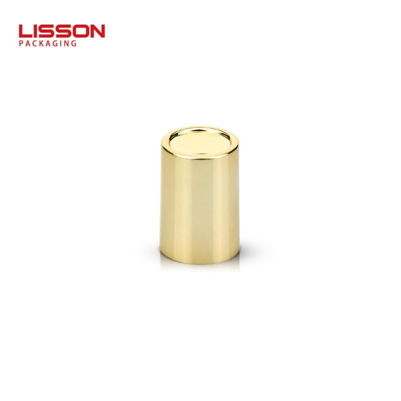 20ml empty cosmetic eye cream tube packaging with Zinc alloy metal applicator