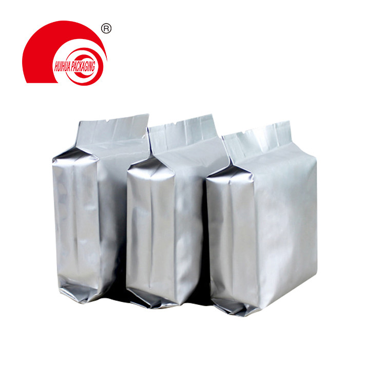 Quad Seal Aluminum Foil Food Grade Side Gusset Whey Mass Protein Packaging Pouches With Custom Design