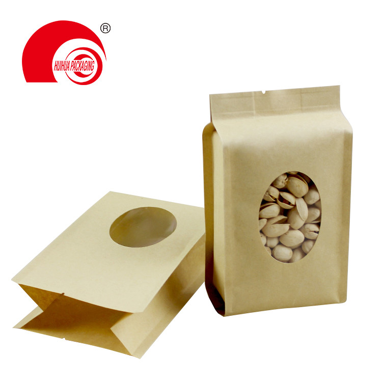 Plastic packaging bags side gusset pouch with stick for packing Wet tissue