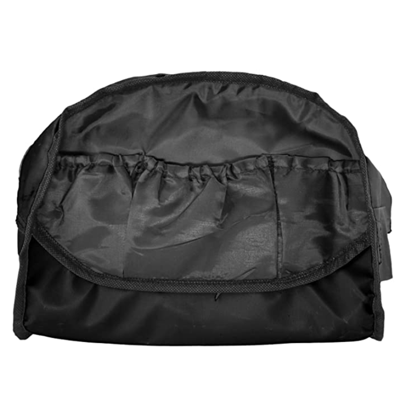 Black Color Convenient Two Tone Duffle Bag